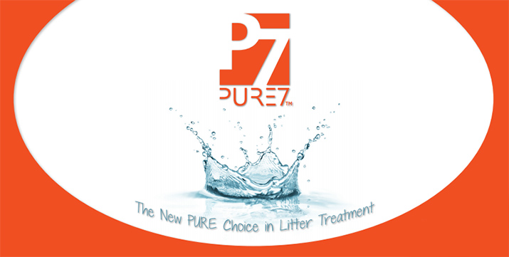 Pure7 the new pure choice in litter treatment