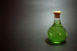 a large image of a bottle of ferrous sulfate