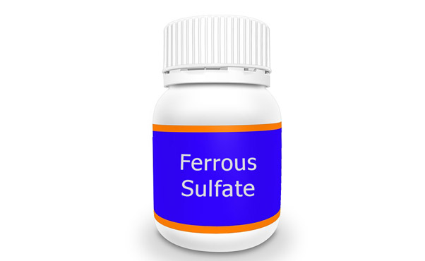 Ferrous Sulfate in Nutritional Supplement Products